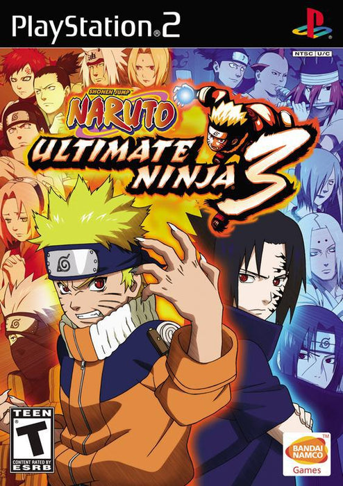 Naruto Ultimate Ninja 3 - PlayStation 2
