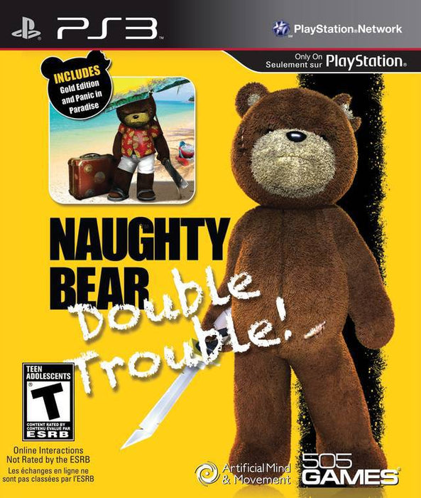 Naughty Bear Double Trouble! - PlayStation 3