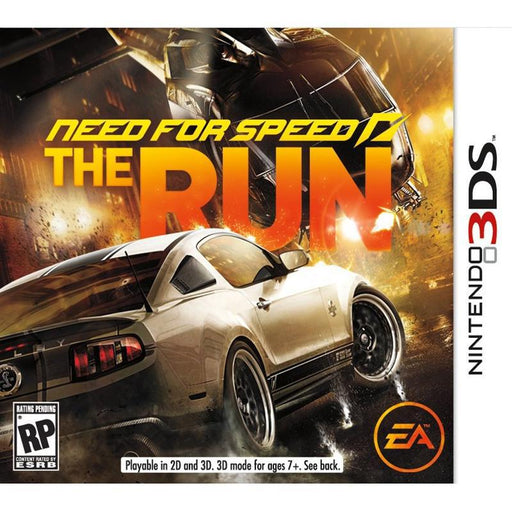 Need for Speed The Run - Nintendo 3DS