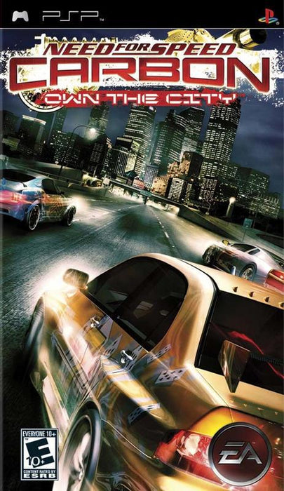 Need for Speed Carbon Own the City - PlayStation Portable
