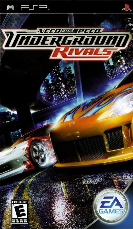 Need for Speed Underground Rivals - PlayStation Portable