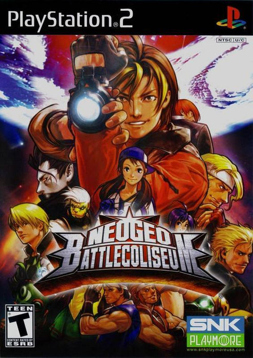 NeoGeo Battle Coliseum - PlayStation 2