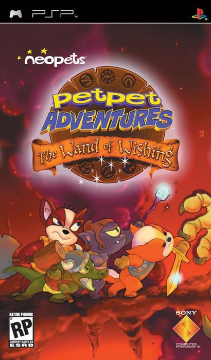 Neopets Petpet Adventures The Wand of Wishing - PlayStation Portable
