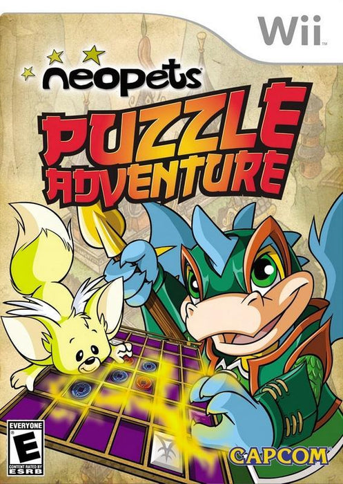 Neopets Puzzle Adventure - Wii