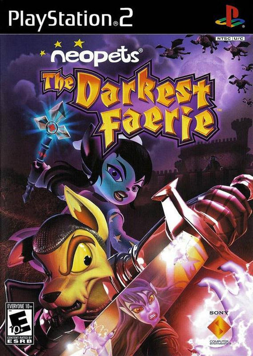 Neopets The Darkest Faerie - PlayStation 2