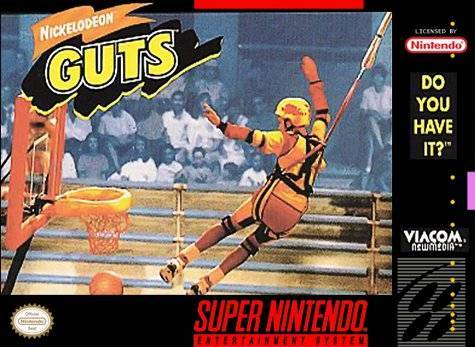 Nickelodeon GUTS - Super Nintendo Entertainment System