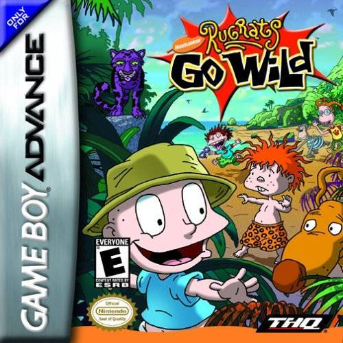 Nickelodeon Rugrats Go Wild - Game Boy Advance