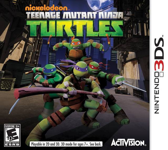 Nickelodeon Teenage Mutant Ninja Turtles - Nintendo 3DS