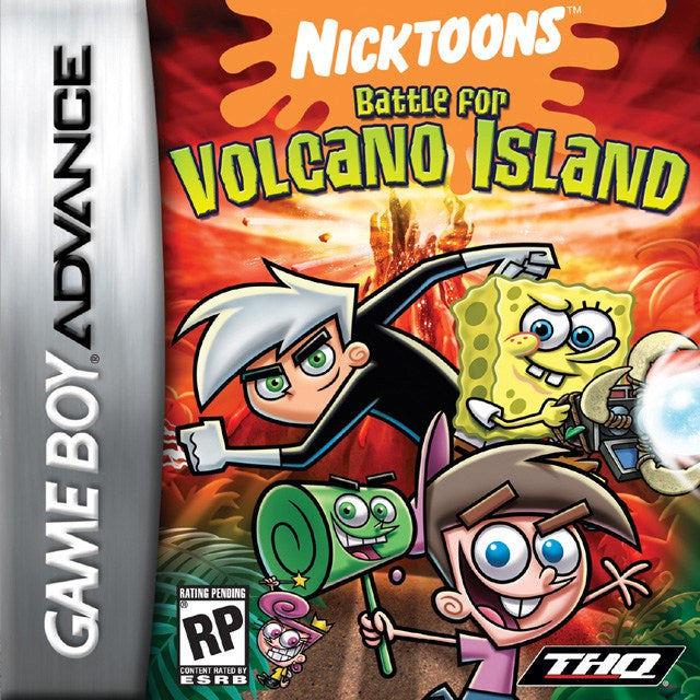 Nicktoons Battle for Volcano Island - Game Boy Advance