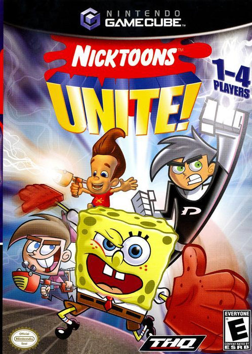 Nicktoons Unite! - Gamecube
