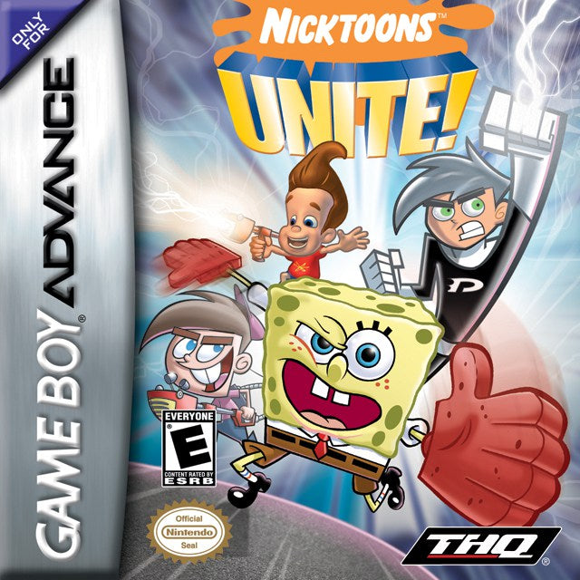 Nicktoons Unite! - Game Boy Advance