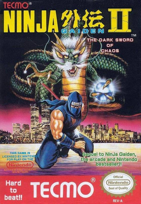 Ninja Gaiden II The Dark Sword of Chaos - Nintendo Entertainment System