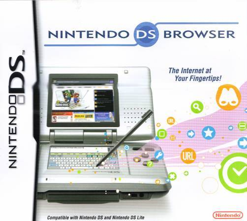 Nintendo DS Web Browser - Nintendo DS