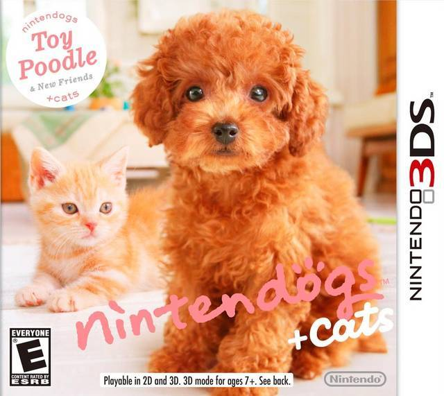 Nintendogs + Cats Toy Poodle & New Friends - Nintendo 3DS