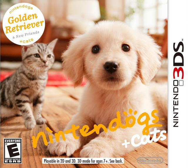 Nintendogs + Cats Golden Retriever & New Friends - Nintendo 3DS