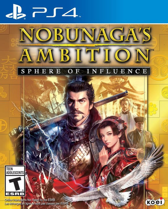 Nobunagas Ambition Sphere of Influence - PlayStation 4