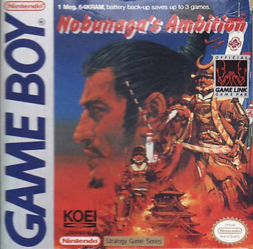 Nobunagas Ambition - Game Boy
