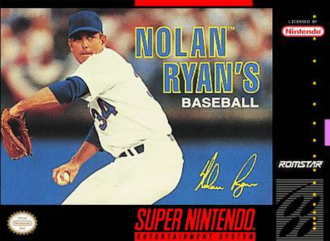 Nolan Ryans Baseball - Super Nintendo Entertainment System