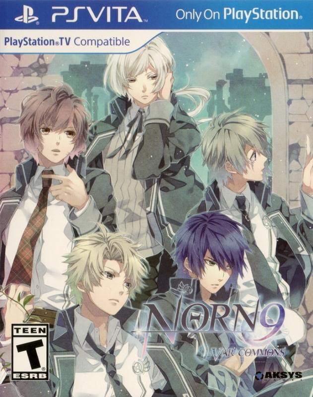 Norn9 Var Commons - PlayStation Vita