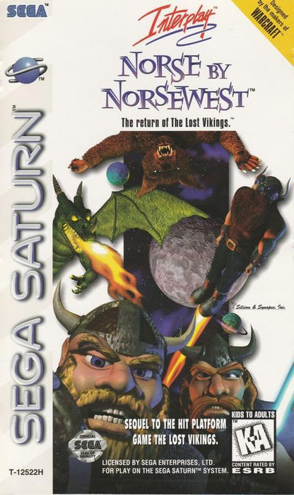 Norse by Norsewest The Return of The Lost Vikings - Sega Saturn
