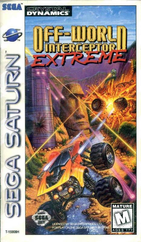 Off-World Interceptor Extreme - Sega Saturn