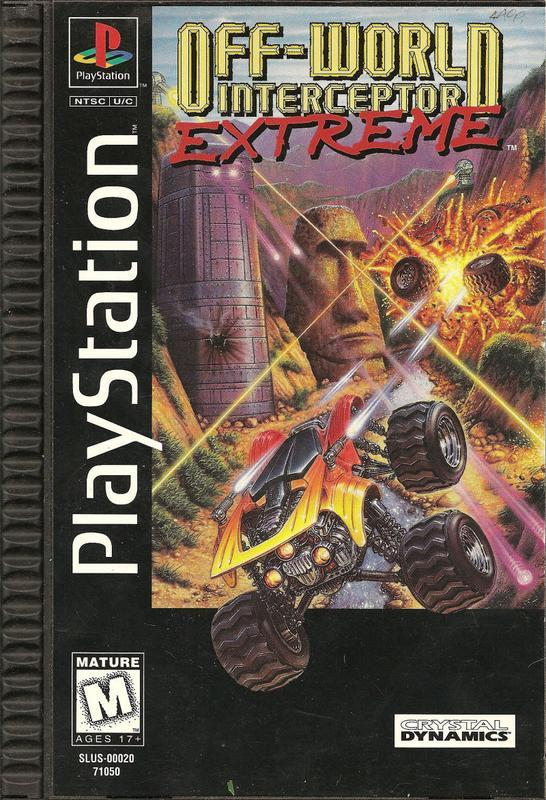 Off-World Interceptor Extreme - PlayStation 1