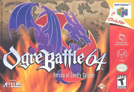 Ogre Battle 64 Person of Lordly Caliber - Nintendo 64