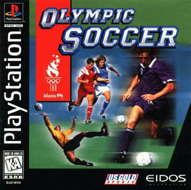 Olympic Soccer Atlanta 1996 - PlayStation 1