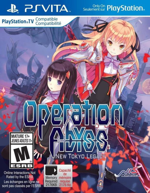 Operation Abyss New Tokyo Legacy - PlayStation Vita