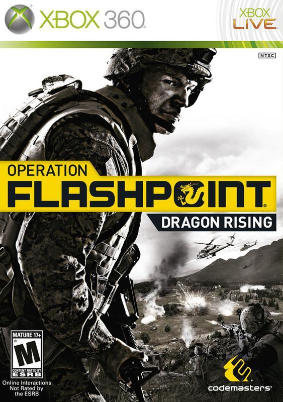 Operation Flashpoint Dragon Rising - Xbox 360