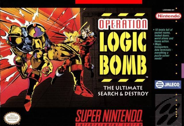 Operation Logic Bomb The Ultimate Search & Destroy - Super Nintendo Entertainment System