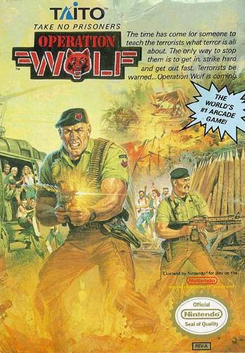 Operation Wolf - Nintendo Entertainment System