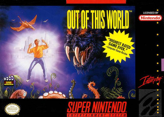 Out of This World - Super Nintendo Entertainment System