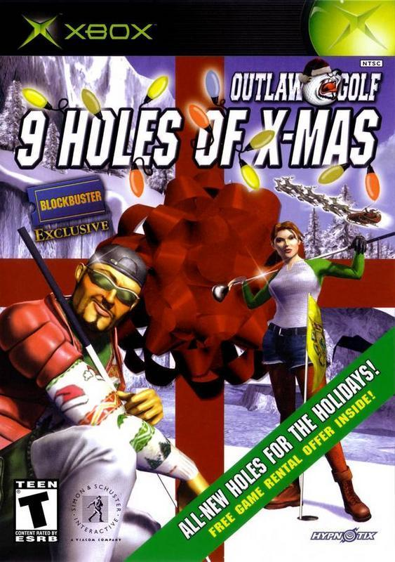 Outlaw Golf 9 Holes of X-Mas - Xbox