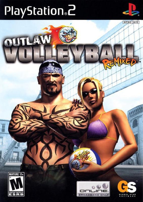 Outlaw Volleyball Remixed - PlayStation 2