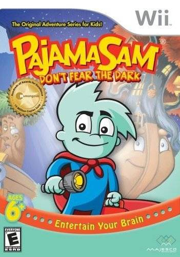 Pajama Sam Dont Fear the Dark - Wii