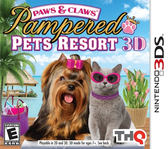 Paws & Claws Pampered Pets Resort 3D - Nintendo 3DS