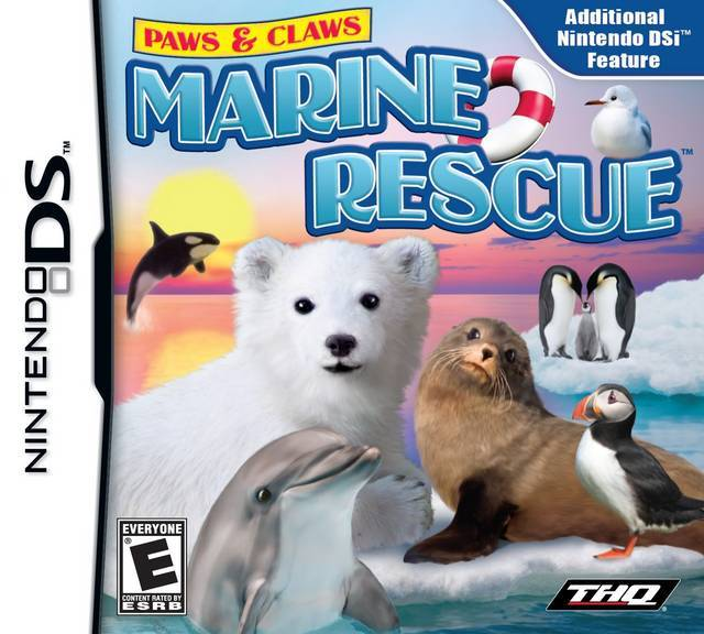 Paws & Claws Marine Rescue - Nintendo DS