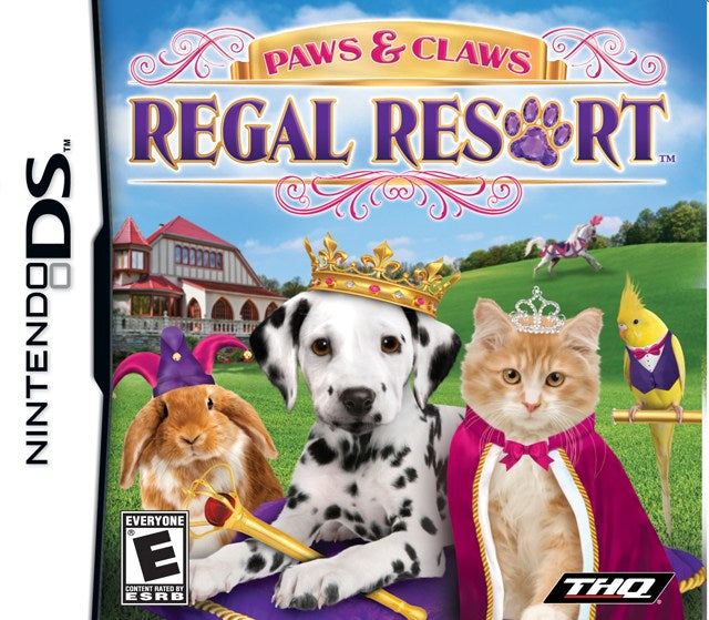 Paws & Claws Regal Resort - Nintendo DS