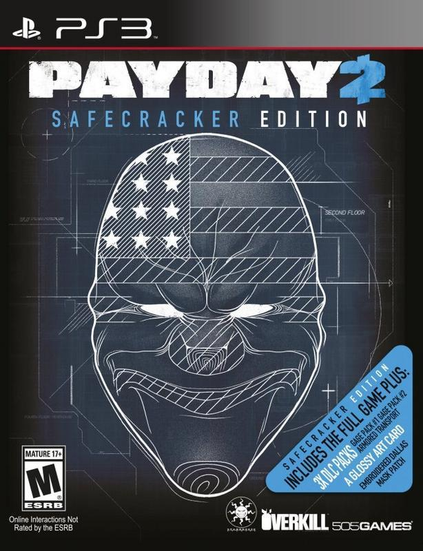 Payday 2 Safecracker Edition - PlayStation 3