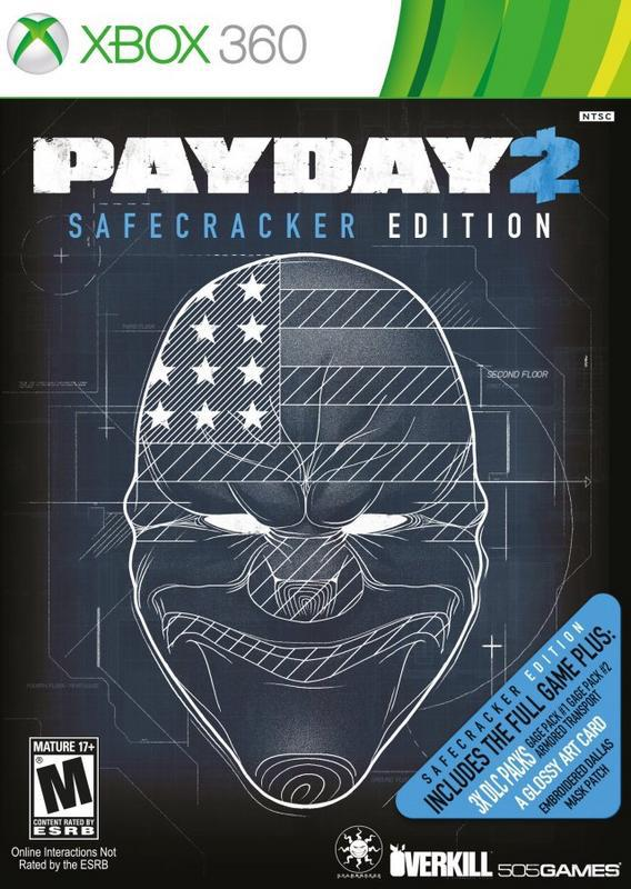 Payday 2 Safecracker Edition - Xbox 360