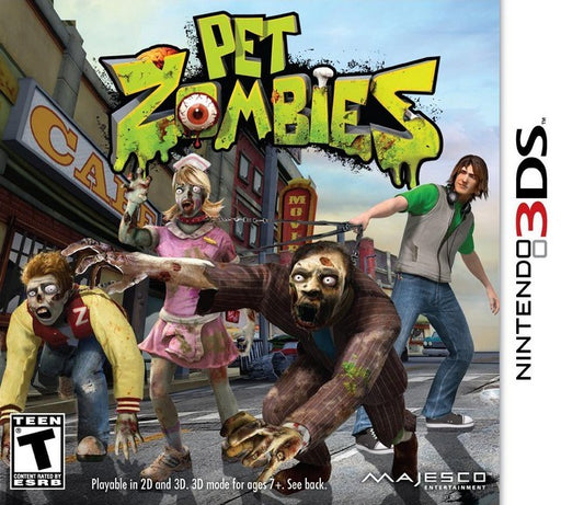 Pet Zombies - Nintendo 3DS