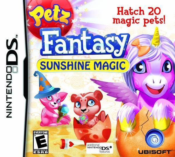 Petz Fantasy Sunshine Magic - Nintendo DS