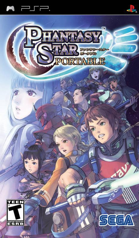 Phantasy Star Portable - PlayStation Portable