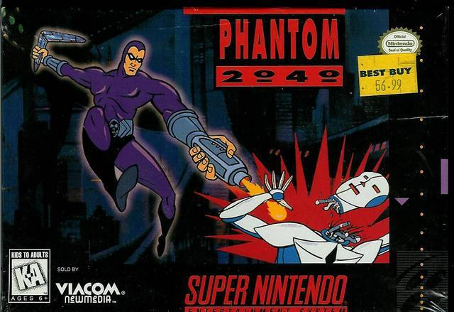 Phantom 2040 - Super Nintendo Entertainment System