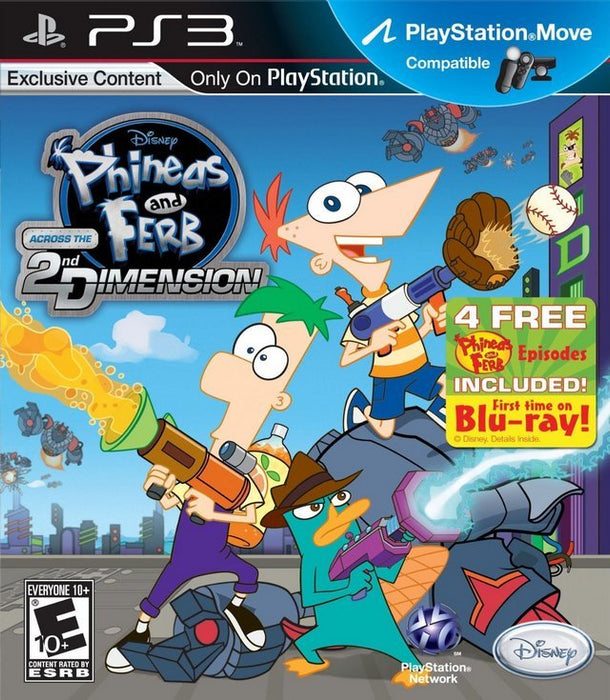 Phineas and Ferb Across the 2nd Dimension - PlayStation 3