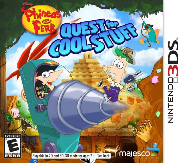 Phineas and Ferb Quest for Cool Stuff - Nintendo 3DS