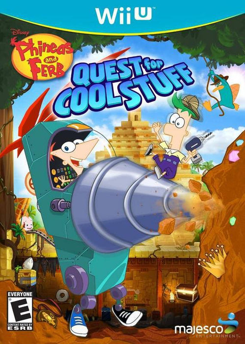 Phineas and Ferb Quest for Cool Stuff - Wii U
