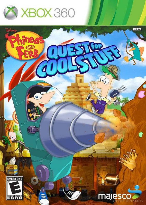 Phineas and Ferb Quest for Cool Stuff - Xbox 360