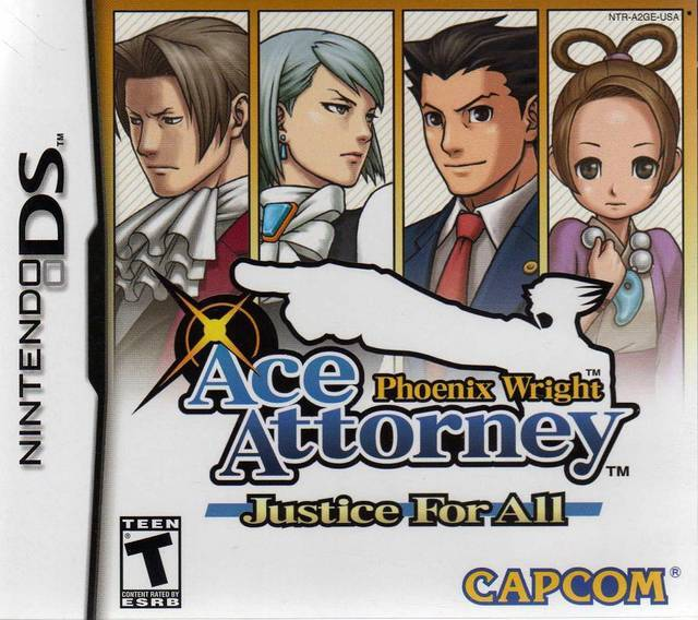 Phoenix Wright Ace Attorney - Justice for All - Nintendo DS